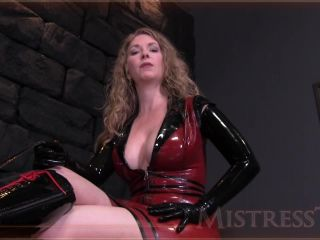 Latex – Mistress – T – Fetish Fuckery – Pulled By Balls