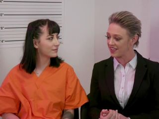 Online Fetish video Butthole Prison: Dee Williams Locks Up Charlotte Sartre for Anal Fraud – Everything butt