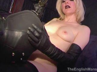 Mistress Sidonia - Tongue Slave - Upscale [HD 720P] - Screenshot 4