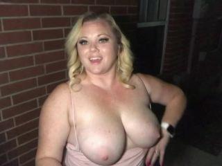 ManyVids presents Katrina Blacked — Outdoor Night Fuck