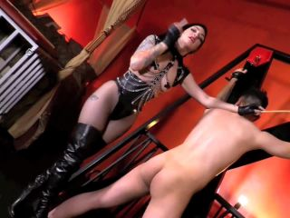 Caning – DomNation – SURRENDERING WON'T KEEP YOU SAFE – Mistress Cybill Troy