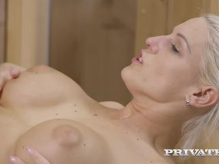 Private presents Blanche Bradburry receives an anal massage —