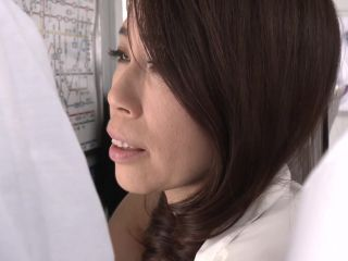 JAV A Married Woman Sex Train - A Fifty-Something Mama Gets Fondled - ...