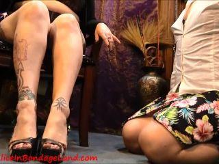 Aliceinbondageland – Spit Shine Shoe Worship Fetish FemDom – Domina Jenna Rotten