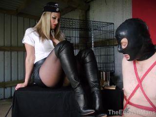 Bootlicking – The English Mansion – Femdom Crime And Punishment – Nikki Whiplash