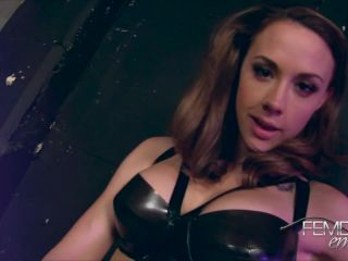 Vicious Femdom Empire – Chanel Preston – Stretching the slave – Ass Fucking, Strapon - boots - toys asian femdom pegging
