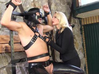 SADO LADIES Femdom Clips  Just Four Digits  Starring Mistress Akella