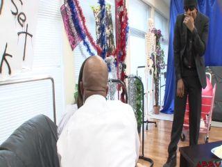 [Heydouga-4149 007] ABBY 4149-PPV007 馬並みにでかい黒人のチンポでイラマされ窒息寸前。究極のデカチンイラマ地獄 姫村ナミ