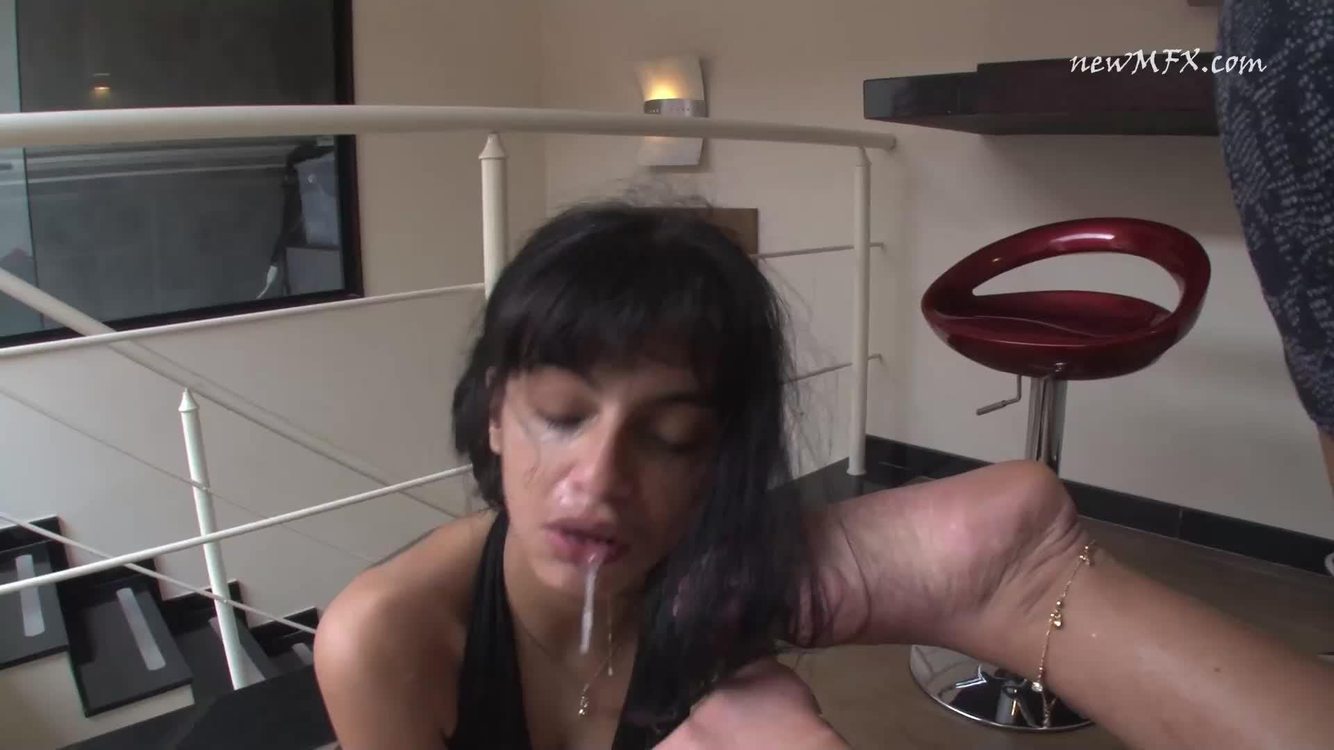 Gagging Deep Throat Face Fuck