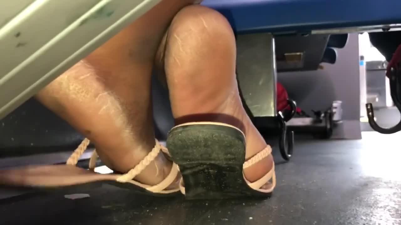 Instagram Live Ebony Feet