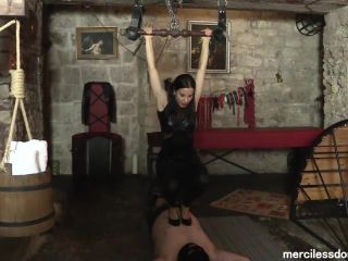 Kicking – Merciless Dominas – High Heels Destruction Of Bitrack, Starring Lady G