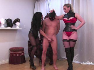 Kneeing – Club Stiletto FemDom – Ball Bashing Fun – Miss Jasmine