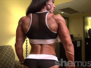 Carla - She Has Muscles. And They're On The Couch Right Now.