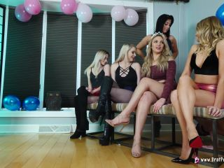 Brat Princess 2 – Nika Venom, Princess Amber, Jackie, Kaylie – 3 Month Chastity Blue Ball Party (4K)