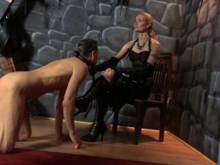 Nipple Play – SADO LADIES Femdom Clips – Tortured With Boots And Clamps – Empress Victoria