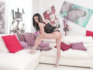 Online Tube LegalPorno presents Foot fetish & double penetration with beautiful Nelly Kent SZ2026 - dp