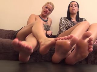 Porn online Toes – REA and REBECCA – 'Family Reunion' – Dirty Foot Worship and Humiliation (Mother and Daughter!)