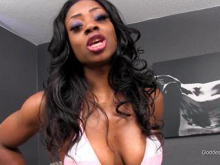 Porn online Ebony Dominatrix GoddessMax – Thats What White Balls are Made For femdom