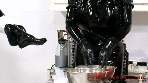 Fetish, Latex, Rubber Video, Leather Sex Video 6435