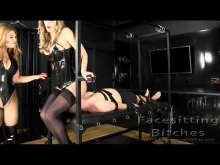 Porn online Facesitting Bithces  – Completely Crushed. Starring Carissa and Nikki [Facesit, Face Sit, Face Sitting] femdom