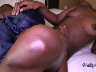 Daddys Sluts - Dark Skin Anal Sub Gets Ass Busted Open