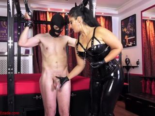 Huge ruined cumshot – Mistress Ezada Sinn