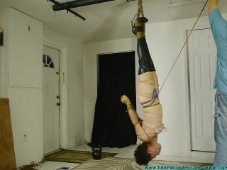 {hanging Upside Down Bound With Fishing Line (wmv, , 591.46