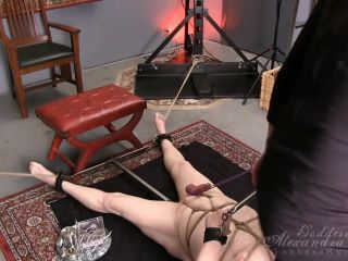 Bondage – Goddess Alexandra Snow – Steel Ball Stretcher