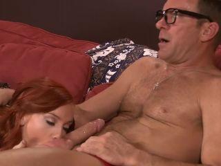 Petite dani jensen has sex with a mature man