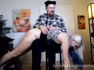 Naughty Model Dria Spanked hard by Mr. Ford