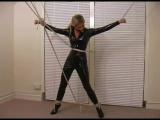 Tight PVC Cat suit - Part 2 15-06-2009