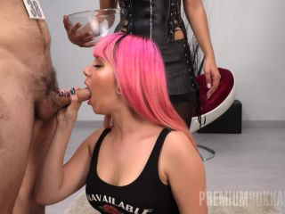 [04.01.19] PremiumBukkake - Pink Charlotte - Bukkake (2.68 GB) | massive loads | bukkake krissy lynn femdom