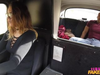Vanessa Decker - Fit Taxi Driver Rides Cock Like A Pro