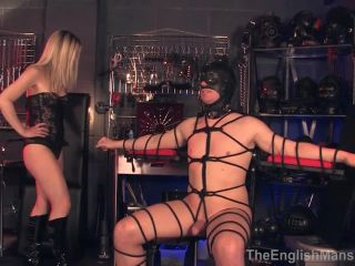 The English Mansion – Tied For Her Orgasm – Complete Film. Starring Mistress Sidonia - odd insertions - massage granny fisting sex