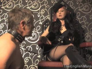THEENGLISHMANSION presents Domina Liza In Vintage Mistress Worship