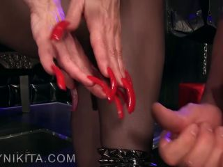Worship My Long Red Nails