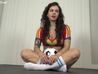 Soccer Girl Handjob For The Win – Roxie Rae Fetish – Keisha Grey