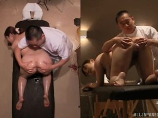 Awesome Sexy milf Chie Nakamura gets a worthy massage Video Online