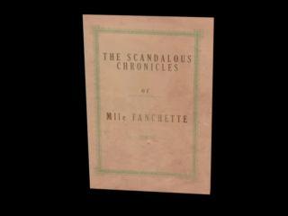 Chronicles of Mlle Fanchette – La douce agonie – [HD-1080p – Mp4]