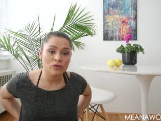 Meana Wolf – Make Me Bi 5 – Forced Bi – Homo Erotic, Fag, femdom fetish on brunette