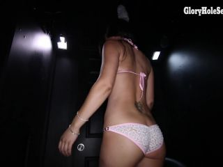 Online video Vee's Fourth Glory Hole Video  06/14/2014 brunette