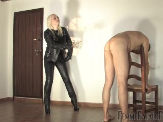 Porn online Femme Fatale Films – Caning For A Kiss. Starring Mistress Heather [Caning, Cane, Canes, Canning] femdom