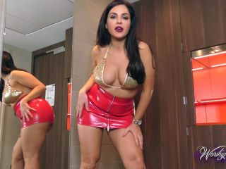 Worship Goddess Jasmine in I LOVE calling you a CUNT