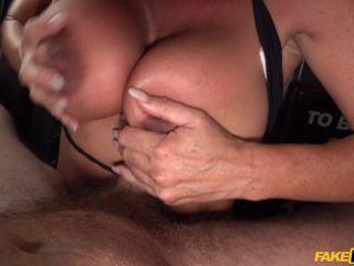 Aubrey Black in Aussie body builder with big tits