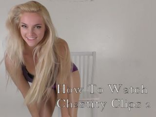 Mandy Marx — How You Will Watch Chastity Clips — Chastity, Latex Fetish