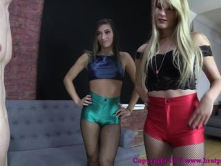 Disco Shorts – Brat Princess 2 – Athena and Chloe – Take Us Shopping and we Promise to Let you Out of Chastity