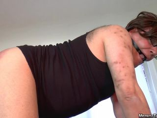 femdom trampling anal porn | Mistress Tangent – Tight Hole | strap-on domination