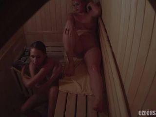 Voyeur czech sauna friends getting hot 4 | czech | czech