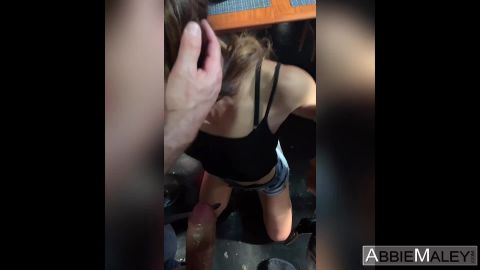Abbie Maley, Wednesday Parker - Face Fucked By Her Friends (1080p)