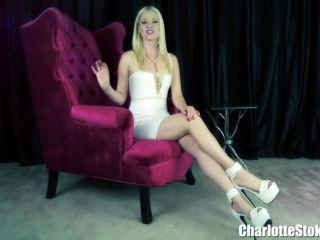 Charlotte Stokely – Sissy Condom Drinker